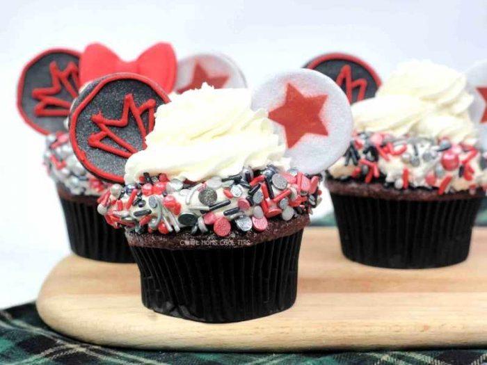 The Falcon and The Winter Soldier Cupcake Recipe