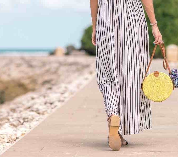 Pair Shoes With A Maxi Dress