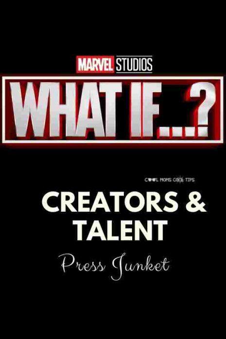 Marvel What If Series press junket