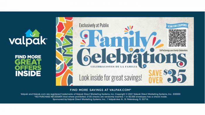 Family Celebration Promotion