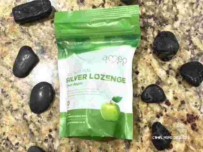Silver lozenge