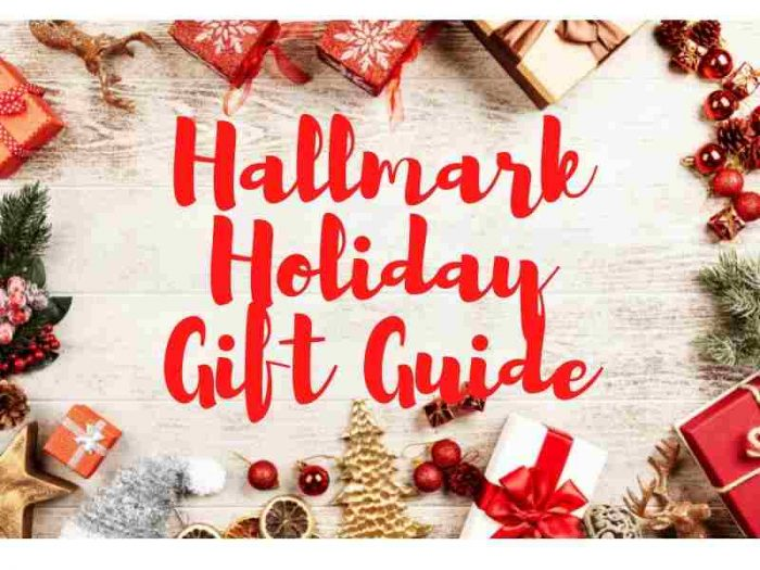 hallmark holiday gift guide